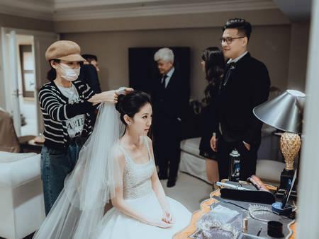 婚禮當天必備!8個小法寶,變出一個完美新娘♥♥♥
