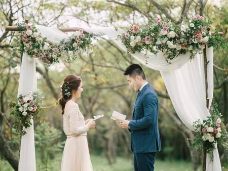 穿出你的美式風格!6件唯美浪漫的「不飽和色輕婚紗」♥♥♥