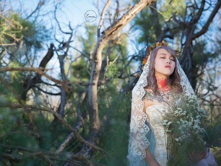 「刺青婚紗」:獨一無二的身體印記,綻放最美麗的畫面♥