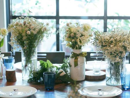 宴客桌上太單調?「瓶瓶罐罐」畫龍點睛,創造滿滿綠意自然風!