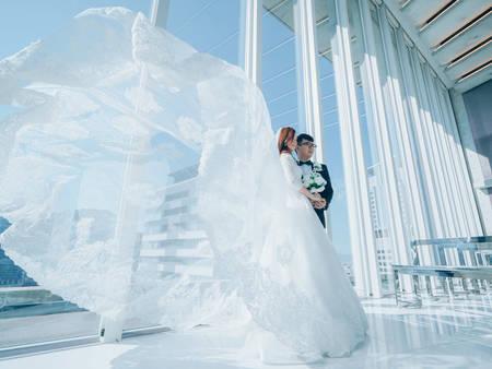 拍出「清透仙氣」的重點?婚紗攝影師分享關鍵--就是這道光!