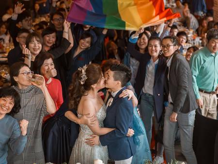 獻上祝福!422家同志友善「婚攝」店家響應 讓彩虹處處飄揚