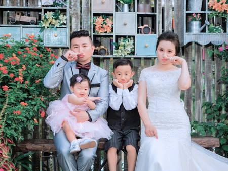 總缺一張滿意的合照?4個原因,讓「全家福婚紗」越來越普遍!