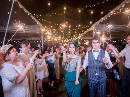 「夜間戶外婚禮」佈置4大亮點,浪漫指數100%!來場讓人難忘的夜晚吧♥