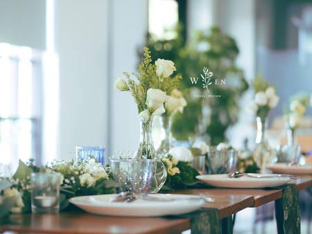 夏日來點小清新!辦一場「綠色主題」婚禮 兼具浪漫不失高雅♥