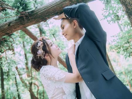 一秒晉身女神級的關鍵!4款絕美「花冠」婚紗照不能沒有它