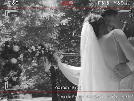 一圓明星夢!婚紗照也能這樣拍出「電影海報」的質感和故事性♥