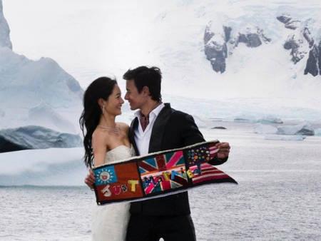來去南極辦婚禮?Janet親自完成:屬於你們的日子也可以別出心裁又瘋狂!