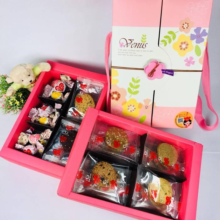 甜心工坊-維娜斯雙層禮盒