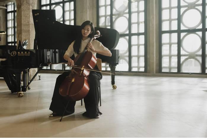 志玲姊姊演大提琴師好合適