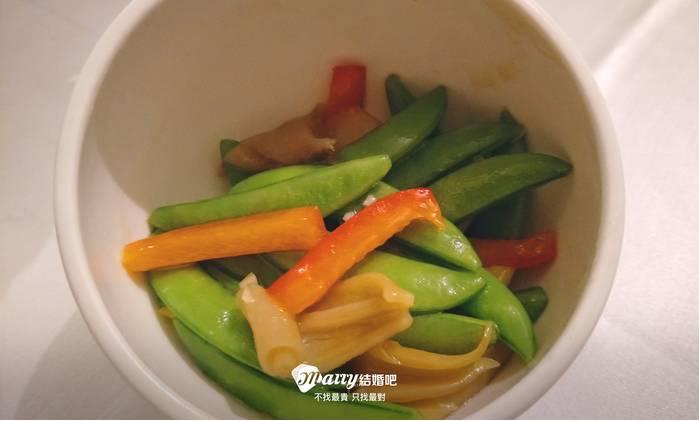 蔬菜整體口感都很爽口、清脆!