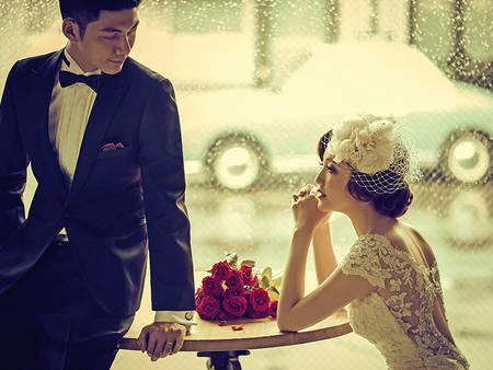 復古不等於老氣!4招教你拍出經得起時間考驗的「復古婚紗」