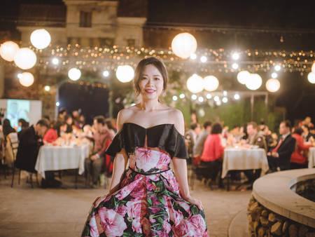 戶外晚宴好麻煩?先搞定新娘「禮服」和「妝髮」你會發現其實沒有那麼難!