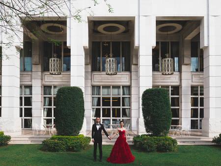 小資貴族婚禮!台中林皇宮花園 全台唯一可以辦婚宴的宮殿♚
