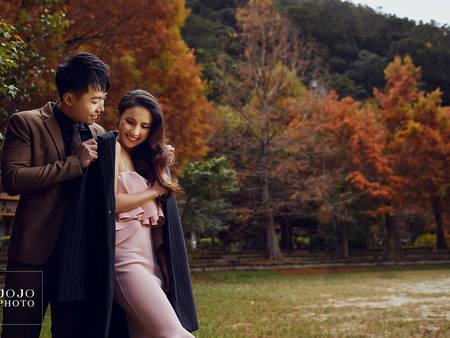 鄉民激推【秋季婚紗秘境】不用出國也能拍出時尚大片✦