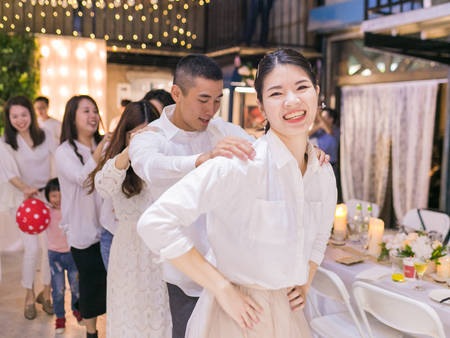 來場美式婚禮!喝著小酒、搖擺著舞步「穀倉派對」成就妳對婚禮的夢想❤