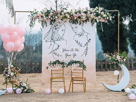 超省錢「婚佈」攻略!教你5大撇步 簡單成就一場夢幻婚禮❤