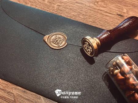 【喜帖工具開箱】春天婚卡「封蠟火漆章」 秒讓賓客感受貴族氛圍!
