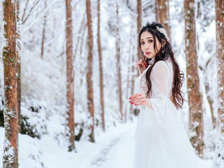 白皚皚好美!「雪景婚紗」6大注意事項 保暖必先要注意✎