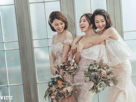 閨蜜婚紗這樣拍!和姊妹一起手牽手當仙女 搶先實現夢想中的韓系婚紗