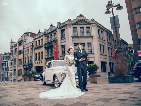 一起穿越時空!拍出有溫度的婚紗照 台北「復古婚紗」景點在這~