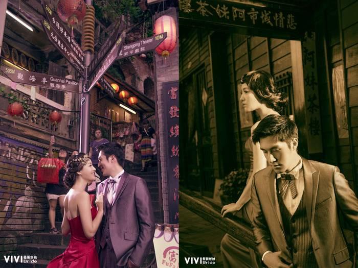 拍婚紗,復古婚紗,台北景點,婚紗照