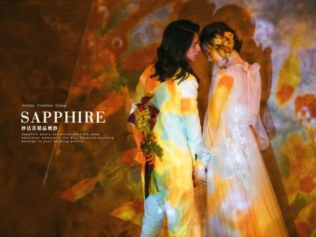 下雨天唯美婚紗照這樣拍!投影式拍攝手法 與色彩融合完美搭配❤