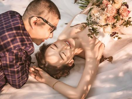 就是那道光!教妳3招打造「自然光婚紗」每次看都能揚起笑容❤