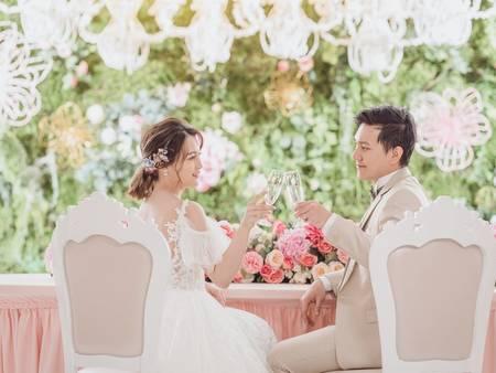 一定要跟上的婚禮趨勢!輕法式半戶外婚禮 證婚+宴客一次搞定