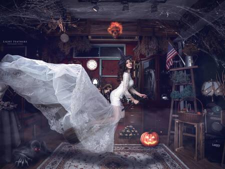 婚紗照就該這樣玩!漂浮婚紗6大重點 有如施了魔法般夢幻~