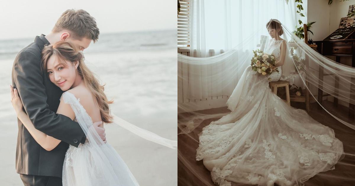挑婚紗,亞洲女生,新娘,挑禮服