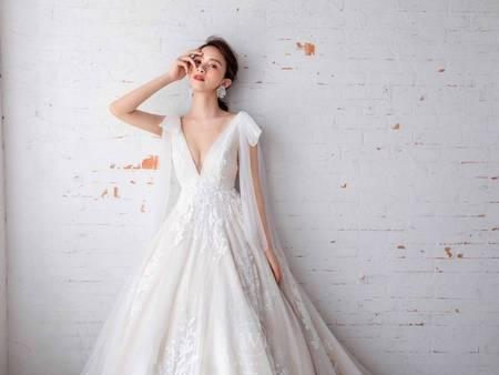 必看!嬌小新娘4大挑婚紗重點 簡單穿出黃金好比例
