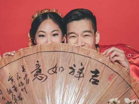 藝人結婚都愛這3款「中式禮服」滿滿大紅喜氣超吸睛!