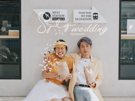 Pantone2021年度代表色「極致灰+亮麗黃」!拍婚紗就決定充滿這個色調♥