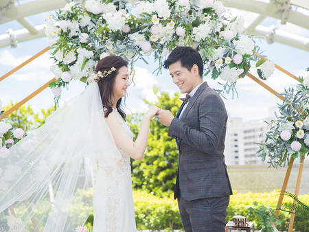 菜色、景色兩不誤!長輩接受度最高的輕美式戶外婚禮 雅悅會館台南館