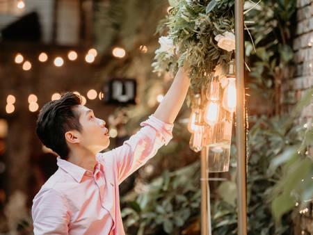 婚佈界的完美先生!妳的婚禮門面包在我身上|Wedding*wish村花弄囍婚禮佈置店長Chris專訪