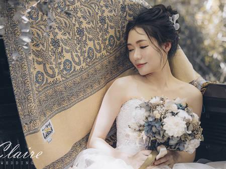 為妳找出最美的一面!婚禮人私心推薦的「新娘改造專業戶」|辛辛克萊自主婚紗專訪