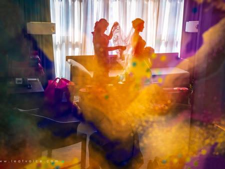 比婚紗照更值得掛在牆上!讓婚禮紀錄美如畫的攝影藝術家|葉子團隊總監葉子專訪