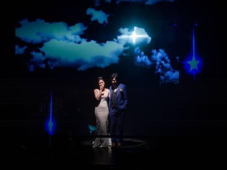 35桌Up婚宴場地推薦!給你演唱會等級舞台效果 星靓點「璀璨廳」實現你的巨星夢