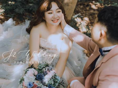 我不是胖,只是美得更顯眼!台北厚片新娘友善店家推薦|J2 wedding 板橋 手工訂製婚紗