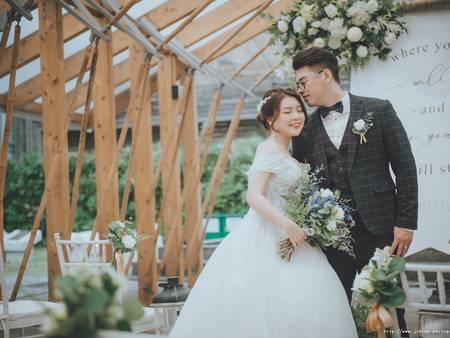 台北療癒系婚禮場地推薦|徐州路2號庭園會館的日系極簡婚宴美學