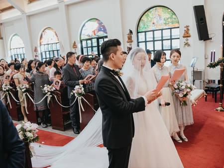 想在教會辦婚禮?結婚禮拜14個必拍重點畫面、基督教婚禮程序單一次搞懂|J-Love婚禮攝影團隊