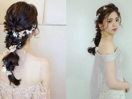 氣質新娘必備造型!嚴選5款日系編髮造型 甜美女神風一秒Get!