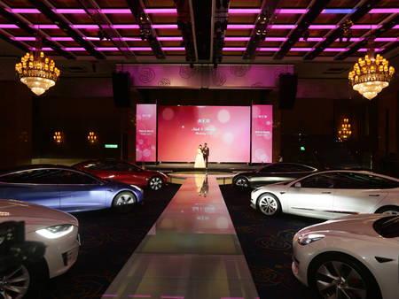 大直典華全球首創Drive-In婚禮!直接把國外汽車電影院搬過來 創造零接觸的婚禮體驗