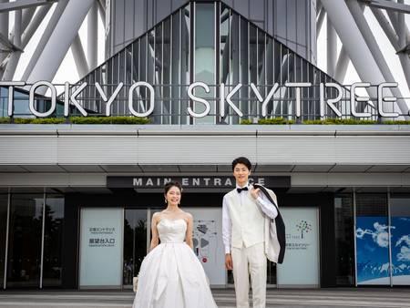 親愛的~我們包場吧!世界第一高塔「東京晴空塔」首次開放拍婚紗