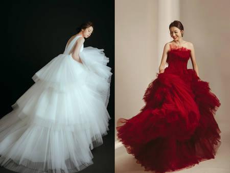J2禮秘親授「身材挑婚紗」攻略:保證又高級又顯瘦、試穿時間立省50%|J2 wedding 板橋 手工訂製婚紗