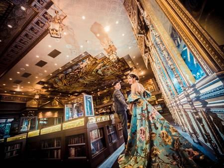 全台唯一「西洋古典博物館 x 浪漫典雅婚宴」帶你穿越到 18 世紀歐洲宮廷|新天地-台中東區店專訪