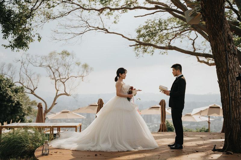 晶華酒店,婚體日,戶外婚禮,偽出國