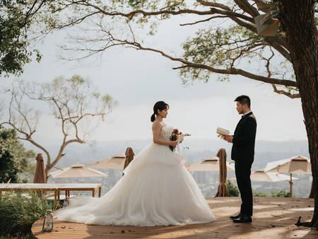 疫情下婚禮不將就!晶華酒店攜手頂級婚禮品牌 推出類出國「陽明山秘境證婚」、「森林造景婚宴」