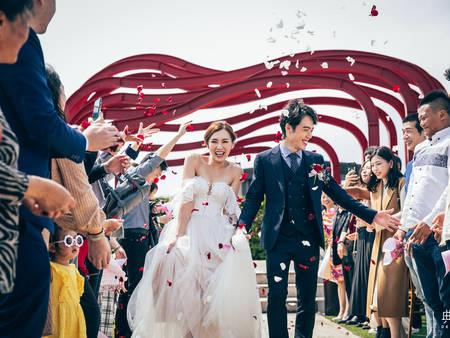 5 色系「儀式堂婚禮」推薦 大直典華時髦小婚禮 同輩長輩分場辦都划算!